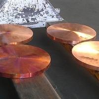 Втулки медные, отливка, литье цветных металлов