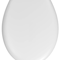 """Сиденье Haro """"Бермуда"""", стандартное, термопласт, белое"""