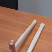 Молоток медный с ручкой