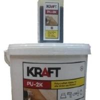 Двухкомпонентный полиуретановый клей для паркета Kraft PU-2k 10кг.
