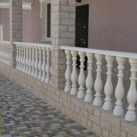 Балясины и балюстрады из худ.бетона