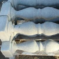 Балясины, балюстрады и тумбы из обычного бетона