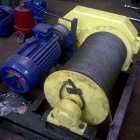 Лебедка ТЭЛ-2 тяговая электрическая, без каната