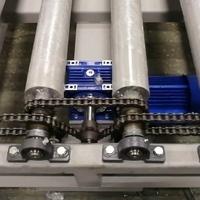 Роликовый конвейер (рольганг приводной)